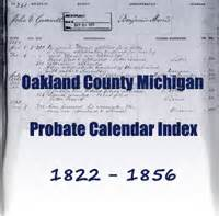 Oakland County Probate Search Genealo Gy 187 Michigan