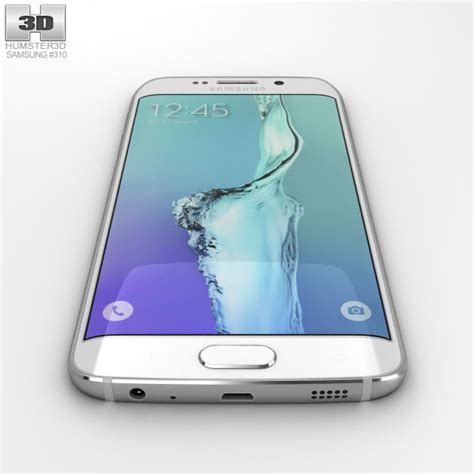 Samsung S6 Edge White samsung galaxy s6 edge plus white pearl 3d model humster3d