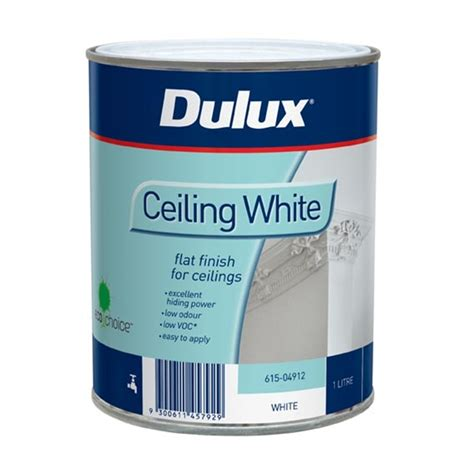 Ceiling White Dulux dulux 1l white ceiling paint bunnings warehouse