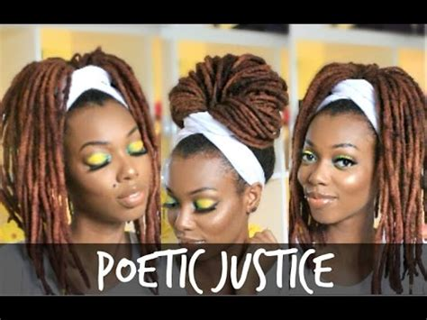 poetic justice head wrap tutorial | for braids, twists