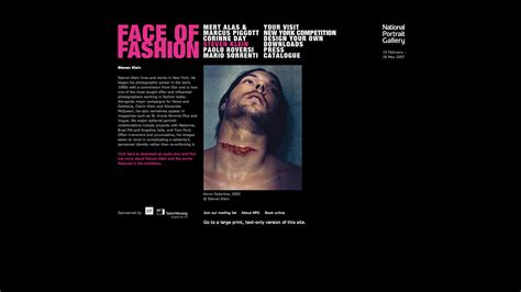 national portrait gallery face to face blog national portrait gallery face of fashion microsite