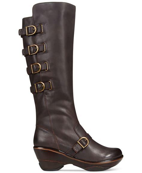 jambu boots jambu s firery boots in brown lyst