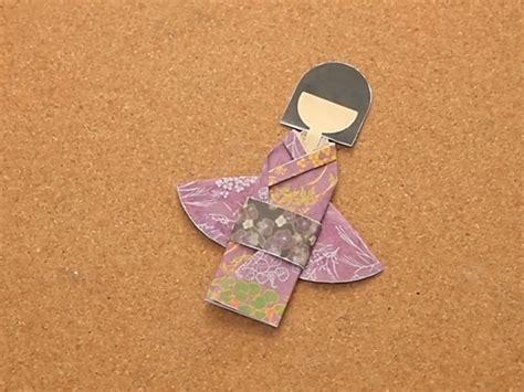 Kimono Origami - how to make a kimono origami 15 easy steps wikihow