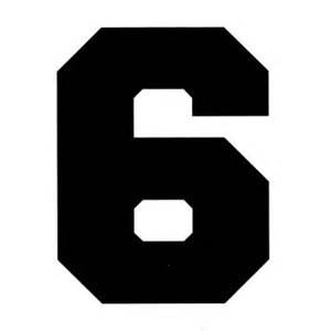 number 6 cliparts co