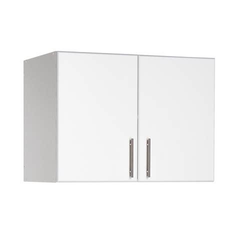 white garage storage cabinets prepac elite storage 24 quot h x 32 quot w x 16 quot d white topper