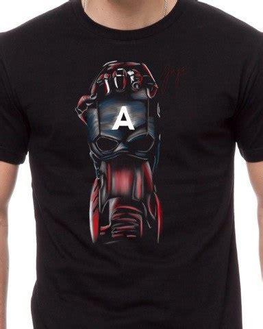 Kaos Civil War Captain America Iron T Shirt Civil War Capta 1 captain america civil war iron t shirt