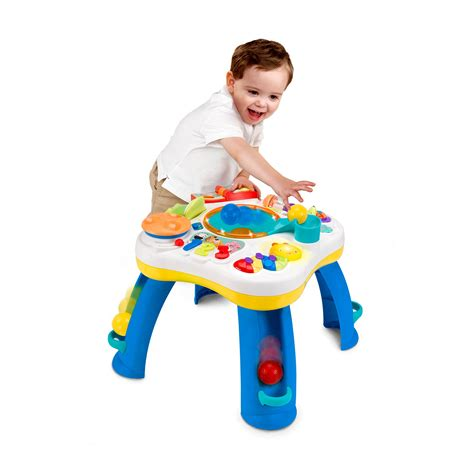 Bright Starts Activity Table by Bright Starts A Let S Get Rolling Activity