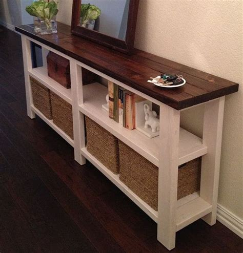 25 Best Ideas About Rustic Sofa Tables On