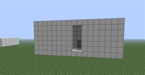 small code door minecraft project