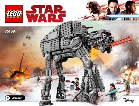 Starwars Assault Walker Marcheur Dassaut Hasbro 75189 order heavy assault walker collection wars universe