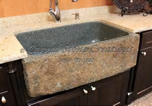 Kitchen Sinks Granite Top 5 Reasons To Install A Granite Kitchen Sink Carved Creations