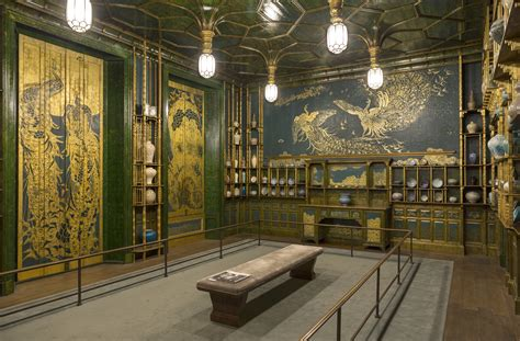whistler peacock room the peacock room harmony in blue and gold by mcneill whistler space patronage