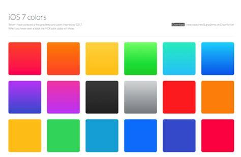 ios colors ios 7的な美しいグラデーションをコレクションしたサイト ios 7 colors ソフトアンテナブログ