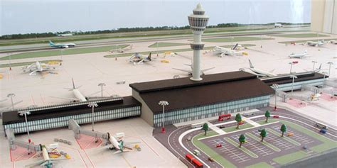 layout of airport terminal building model airport terminal building 1 airport diorama designs