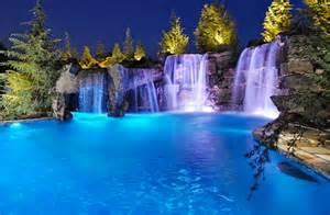 Backyard Designs Ideas Breathtaking Pool Waterfall Design Ideas