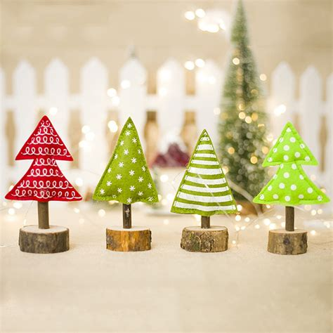 xmas decor  year merry christmas tree cloth desk office decoration toy doll gift winter
