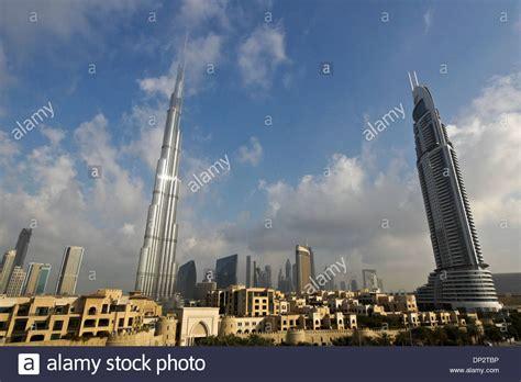 tower address burj khalifa tower on left the address tower on right