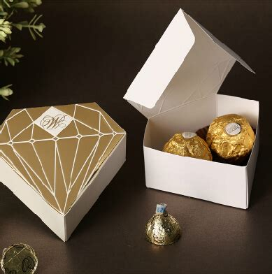 Wedding Favor Boxes Ideas by 50pcs Lot Gold Wedding Favors Boxes Wedding