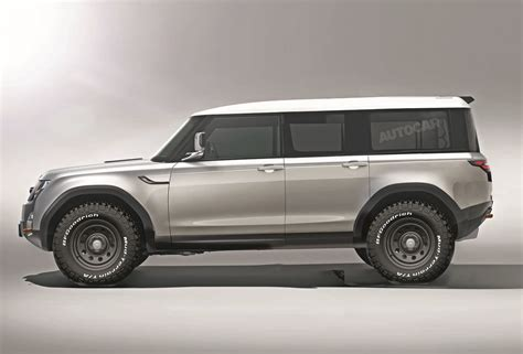 New Land Rover Defender 2020 by 2020 Land Rover Defender Look Thecarsspy