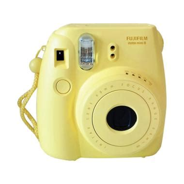 Dan Spesifikasi Kamera Fujifilm Instax Mini 8 jual fujifilm instax mini 8 instan kamera yellow