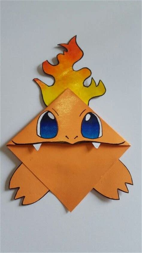 Charmander Origami - 121 best images about boekenleggers on marque