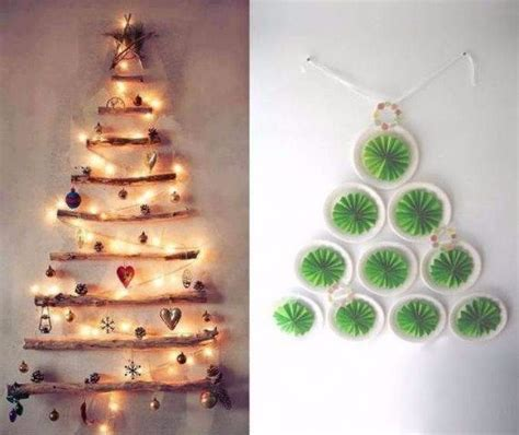 33 cool wall christmas tree ideas for your home