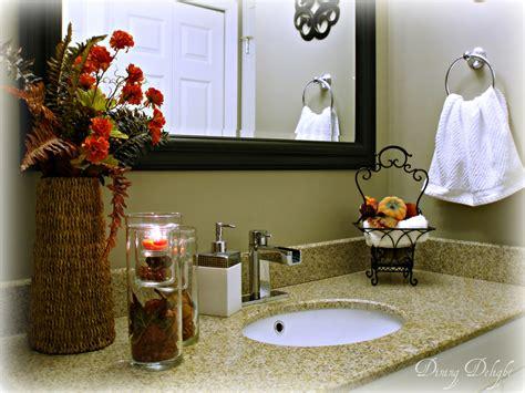 fall bathroom decorating ideas diy fall bathroom decor