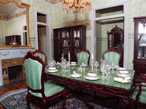 late victorian english manor dollhouse  miniature