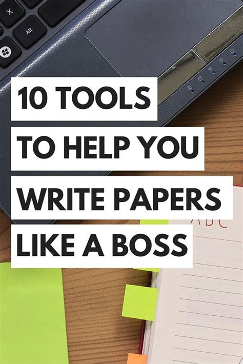 Tools For Writing A Research Paper by Top 10 Tools To Help You Write Papers Like A Research Paper Dr Who And Student Centered