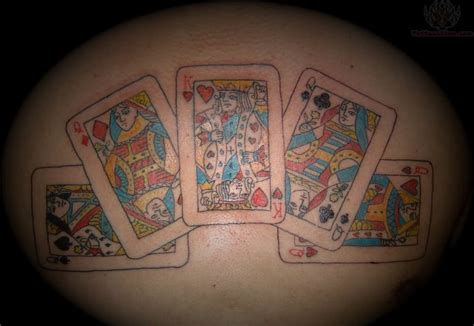 27 king card tattoos