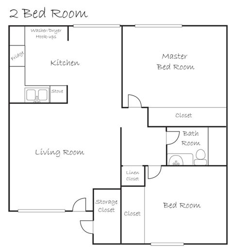 2 bedroom apartment layouts 2 bedroom layout
