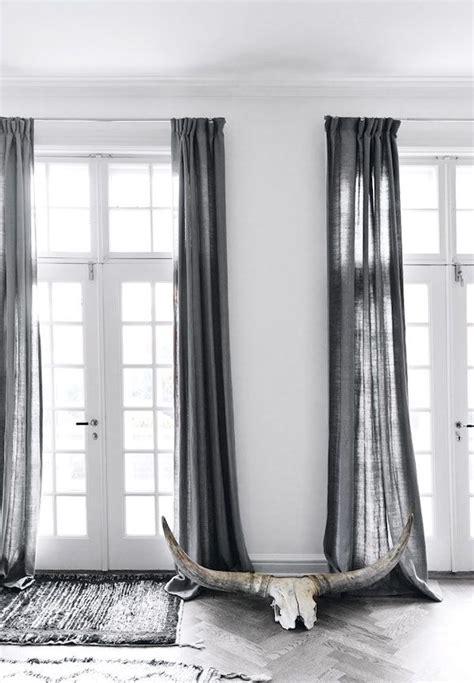 Interior Curtains Best 25 Gray Curtains Ideas On