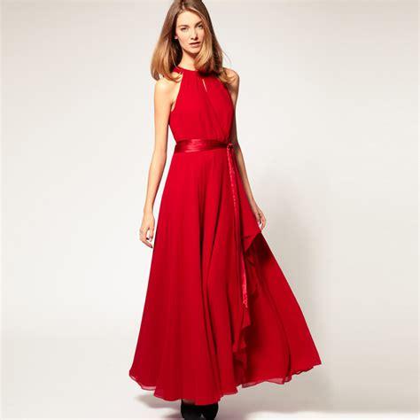 Best Quality Talullah Color Maxi Shirt Dress Belt Not Included All irregular gown sleeveless chiffon strapless