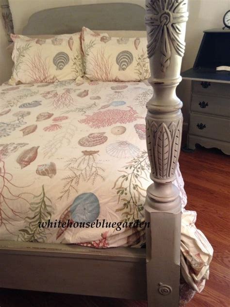chalk paint bed painted rice carved poster bed google search furniture