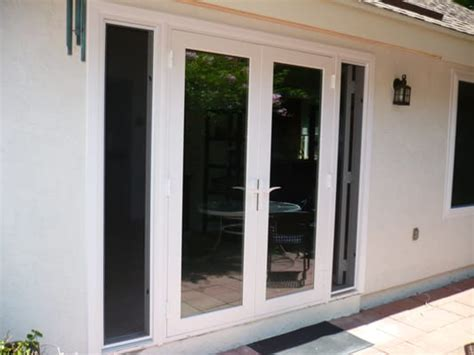 vented sidelight patio doors modern concept venting patio doors and retrofit