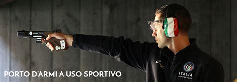 porto d armi per tiro a volo porto d armi a uso sportivo tiro a segno nazionale
