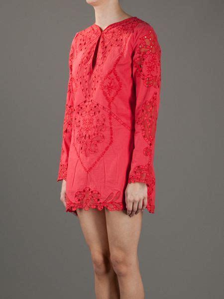 Sherly Mini Dress Batik By antik batik naya mini dress in lyst