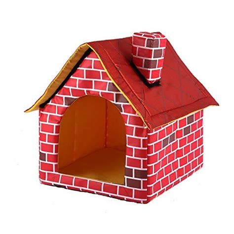 brick dog house portable brick pet dog house cat bed designed for small dogs and cats price reviews