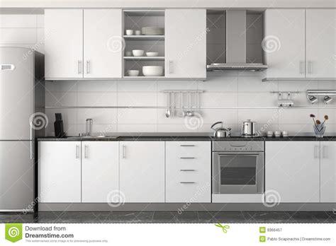 5 clean modern kitchen interior interior design of modern white kitchen royalty free stock