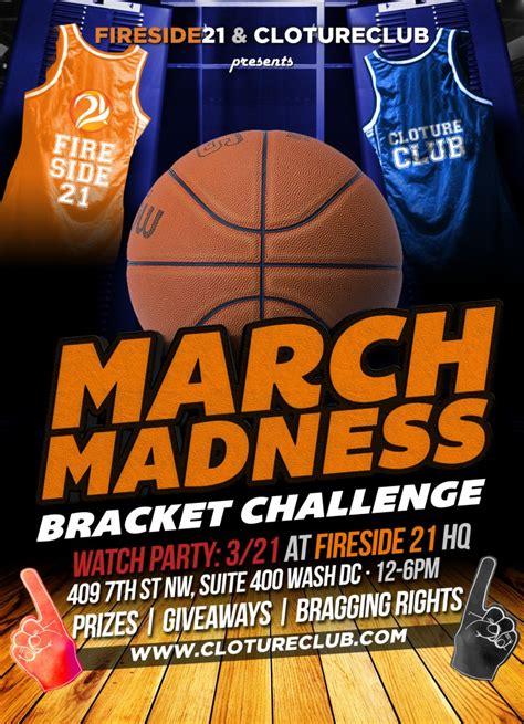 basketball bracket challenge fireside21 and clotureclub s bracket challenge