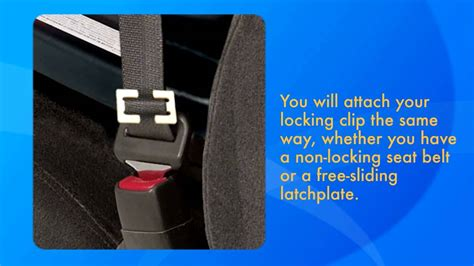 h clip for car seat car seat installation using the locking clip