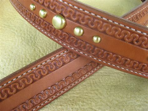 custom leather belts and accessories