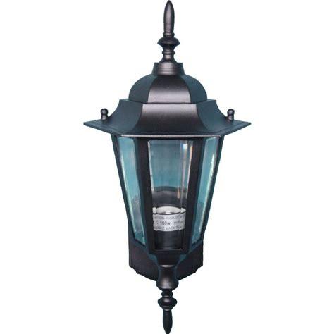 Cast Outdoor Lighting Maxim Lighting Builder Cast 1 Light Black Outdoor Wall Mount 3000clbk The Home Depot