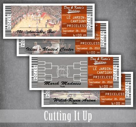 Free Place Card Sport Ticket Template by Basketball Ticket Cards Ticket Seating Cards