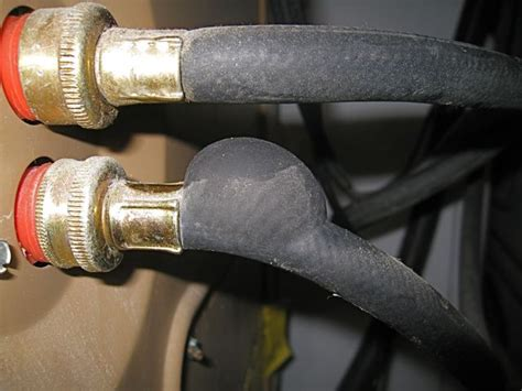 Air In Kitchen Faucet water damage from your washing machine