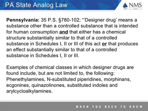 controlled substance act section 102 trends report on changes in the designer drug market