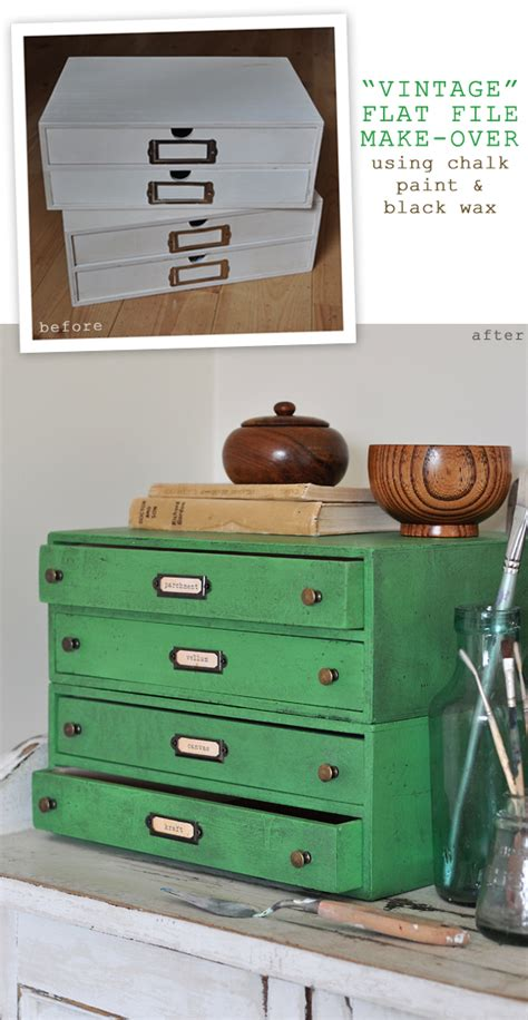 chalk paint and wax tutorial the painted hive how to create a vintage industrial look