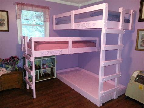 bigger   triple bunk beds