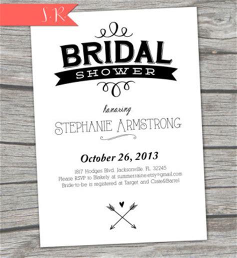 printable black and white bridal shower invitations black and white bridal shower ideas bridal shower ideas