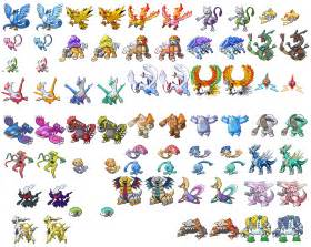 Wallpapers and pictures pokemon pictures all shiny pokemon picture